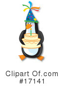 Penguin Clipart #17141 by Maria Bell