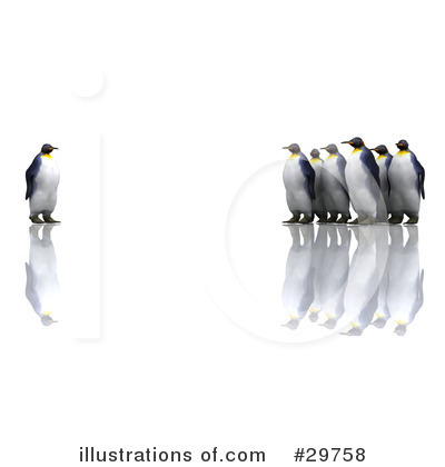 Penguin Clipart #29758 by KJ Pargeter