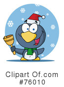 Royalty-Free (RF) penguin Clipart Illustration #76010