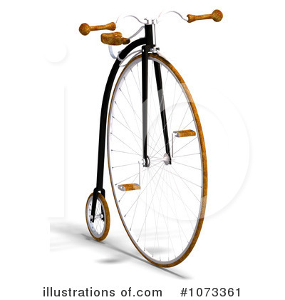Penny Farthing Clipart #1073361 by Ralf61