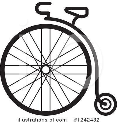 Penny Farthing Clipart #1242432 by Lal Perera