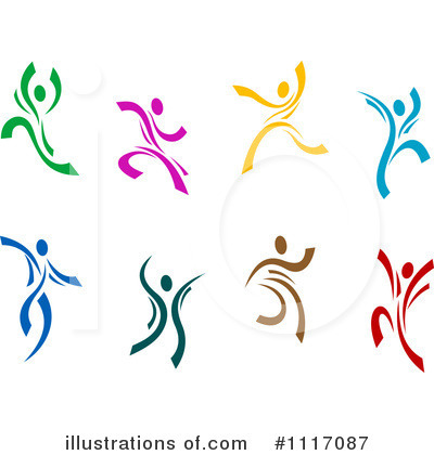 Dancing Clipart #1117087 by Vector Tradition SM