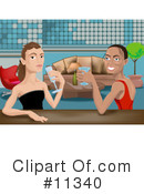 People Clipart #11340 by AtStockIllustration