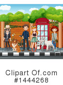 People Clipart #1444268 by Graphics RF