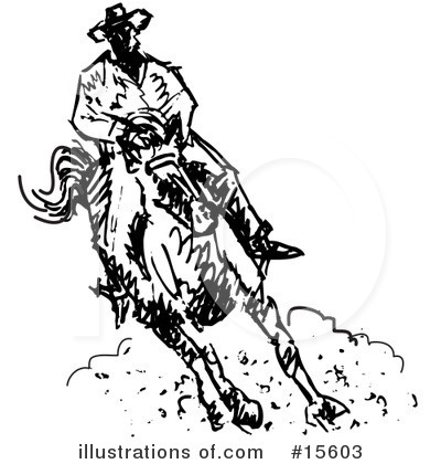 Rodeo Clipart #15603 by Andy Nortnik