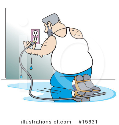 People Clipart #15631 - Illustration by Andy Nortnik