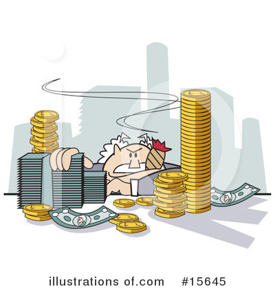 Finance Clipart #15645 by Andy Nortnik