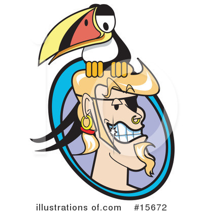 Toucan Clipart #15672 by Andy Nortnik