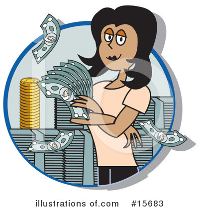 Finance Clipart #15683 by Andy Nortnik