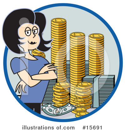 Finance Clipart #15691 by Andy Nortnik