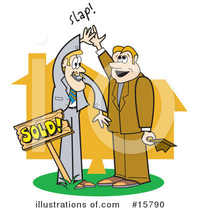 Realtor Clipart #15790 by Andy Nortnik