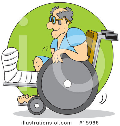 Wheelchair Clipart #15966 by Andy Nortnik