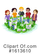 People Clipart #1613610 by BNP Design Studio
