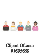 People Clipart #1695669 by BNP Design Studio