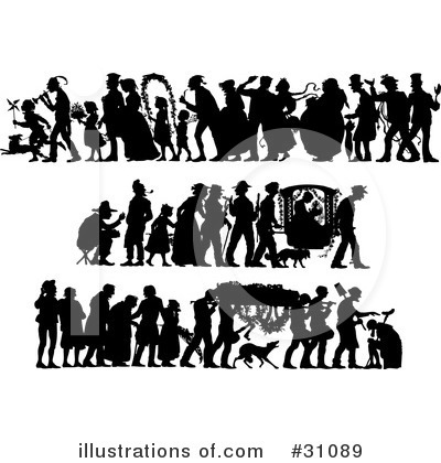 Wedding Party Clipart #31089 by Eugene