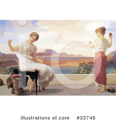 Frederic Lord Leighton Clipart #33746 by JVPD