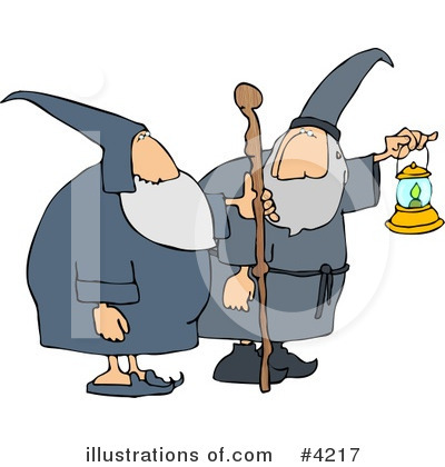 Wizard Clipart #4217 by djart