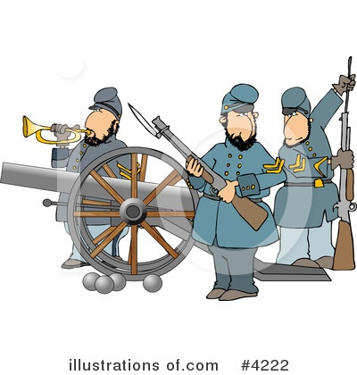 Union Soldier Clipart #4222 by djart
