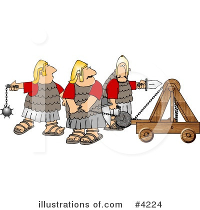 Royalty-Free (RF) People Clipart Illustration by Dennis Cox - Stock Sample #4224