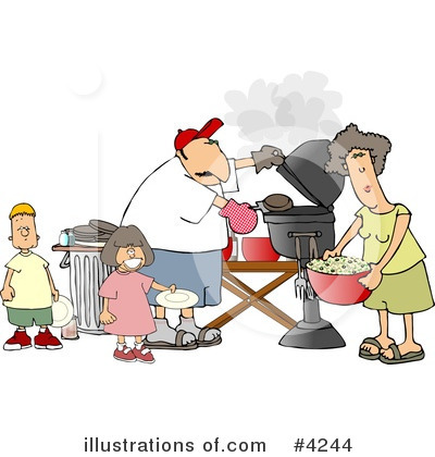 Royalty-Free (RF) People Clipart Illustration by Dennis Cox - Stock Sample #4244