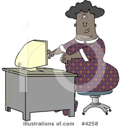 Secretary Clipart #4258 by djart