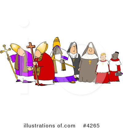 Nun Clipart #4265 by djart