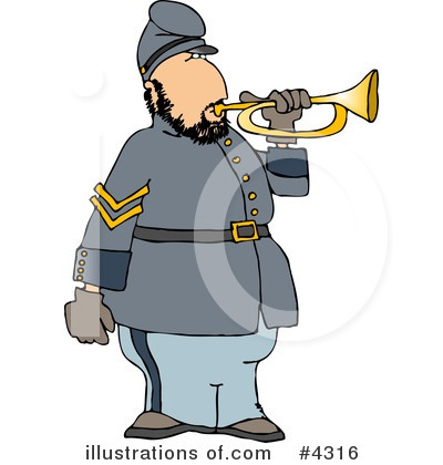 Union Soldier Clipart #4316 by djart