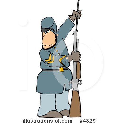 Union Soldier Clipart #4329 by djart