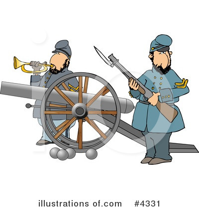 Union Soldier Clipart #4331 by djart