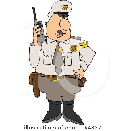 Police Clipart #4337 by djart
