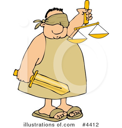 Justice Clipart #4412 by djart