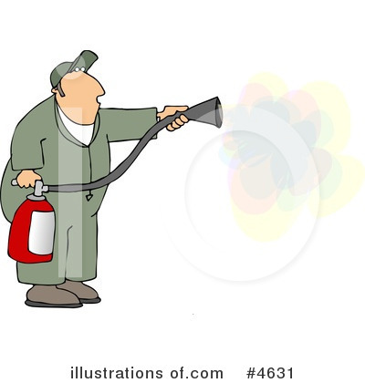 Fire Extinguisher Clipart #4631 by djart