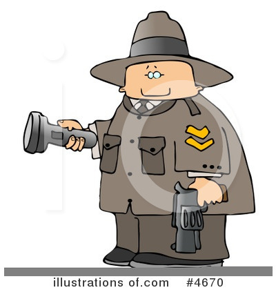 Police Clipart #4670 by djart