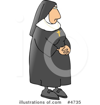 Nun Clipart #4735 by djart