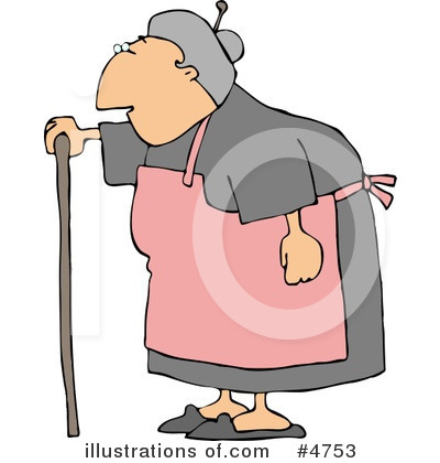 Old People Clipart #4753 by djart