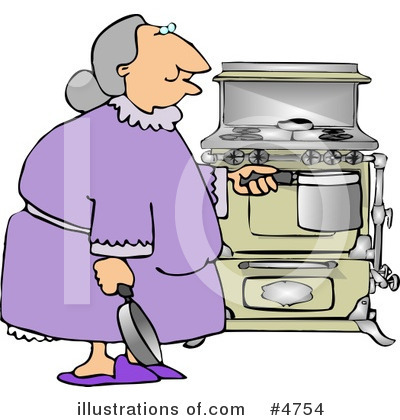 Old People Clipart #4754 by djart