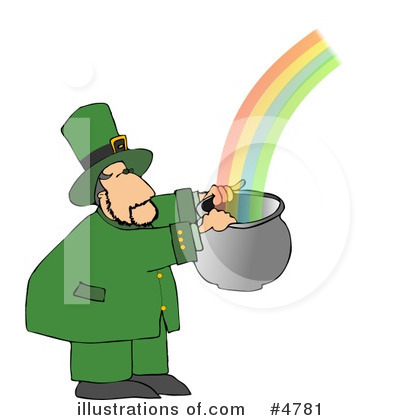 Leprechaun Clipart #4781 by djart