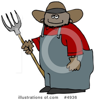 Farmer Clipart #4936 by djart