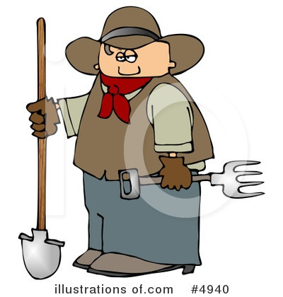 Farmer Clipart #4940 by djart