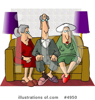 Old People Clipart #4950 by djart