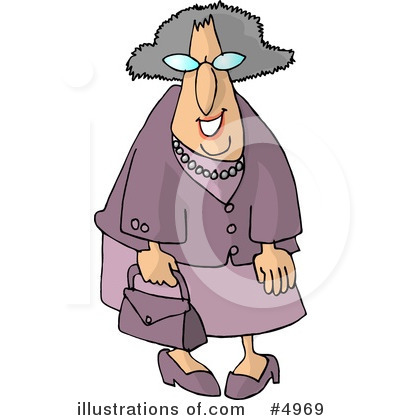 Old People Clipart #4969 by djart