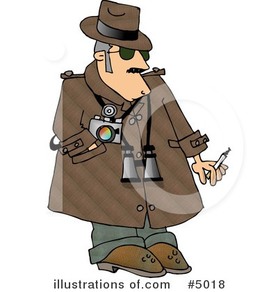 Detective Clipart #5018 by djart