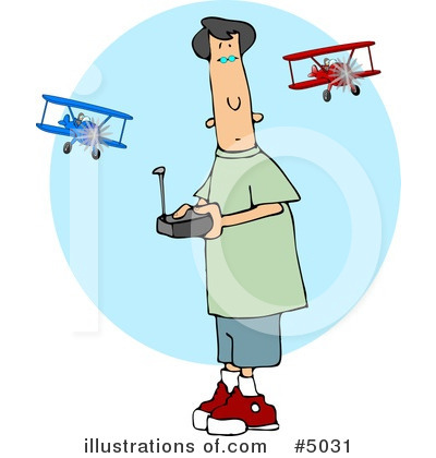 Airplane Clipart #5031 by djart