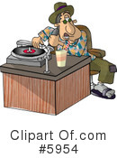 People Clipart #5954 by djart