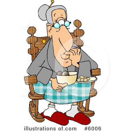 Old People Clipart #6006 by djart