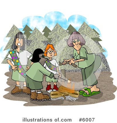 Camping Clipart #6007 by djart