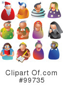 Royalty-Free (RF) People Clipart Illustration #99735