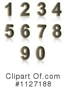 Perforated Number Clipart #1127188