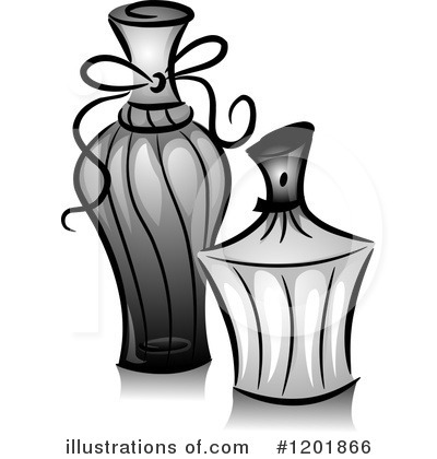 Royalty-Free (RF) Perfume Clipart Illustration by BNP Design Studio - Stock Sample #1201866