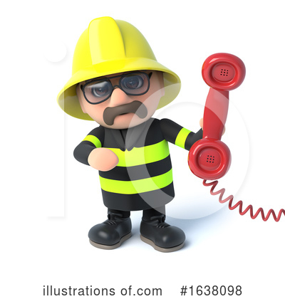 Fireman Clipart #1638098 by Steve Young